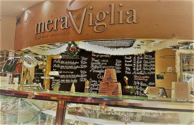 Meraviglia Nice Glacier-Cafeteria-Creperie Glaces et café à l'italienne Glacier-Cafeteria-Creperie