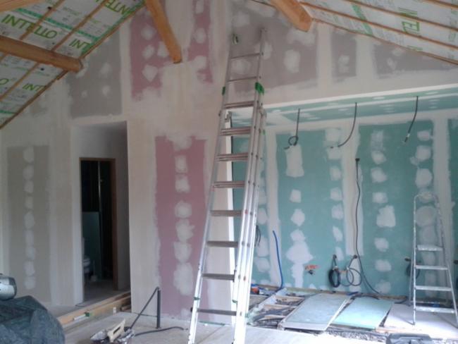 JULIEN GEOFFRE Fleurac Travaux de plâtrerie - peinture Peintre en bâtiment Plaquiste - Plâtrier