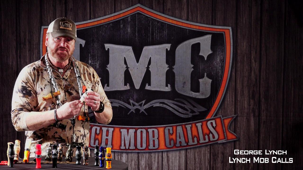 Lynch Mob Calls Blue Collar Stranglehold Duck Call Gun Smoke Double Reed