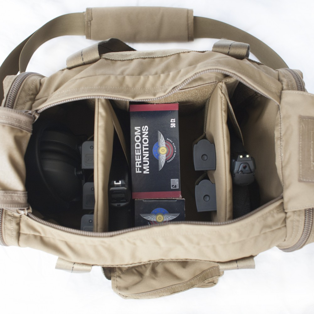 Tan (FDE) Pistol Bag Loadout