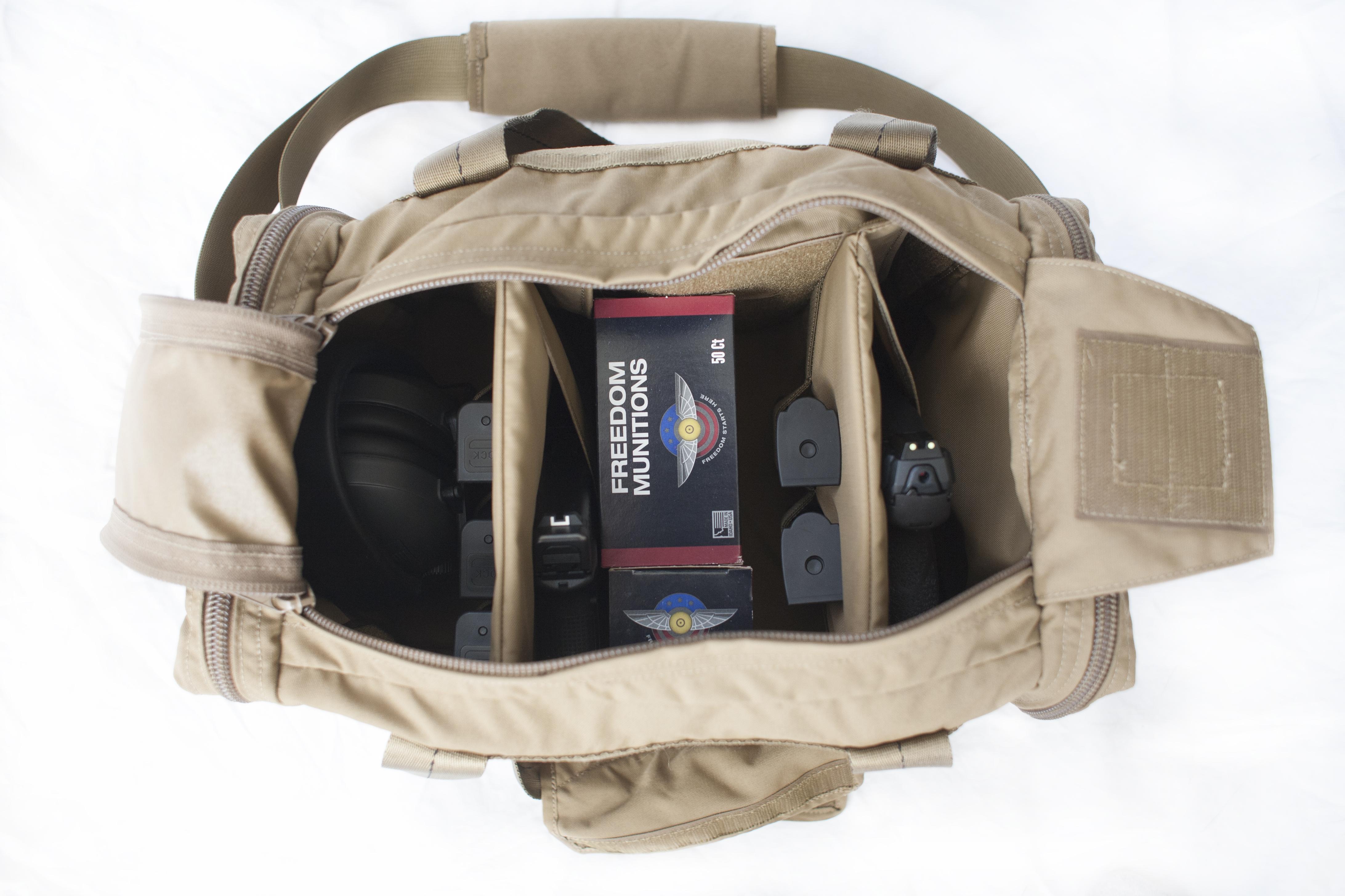 Tan (FDE) Pistol Bag Loadout