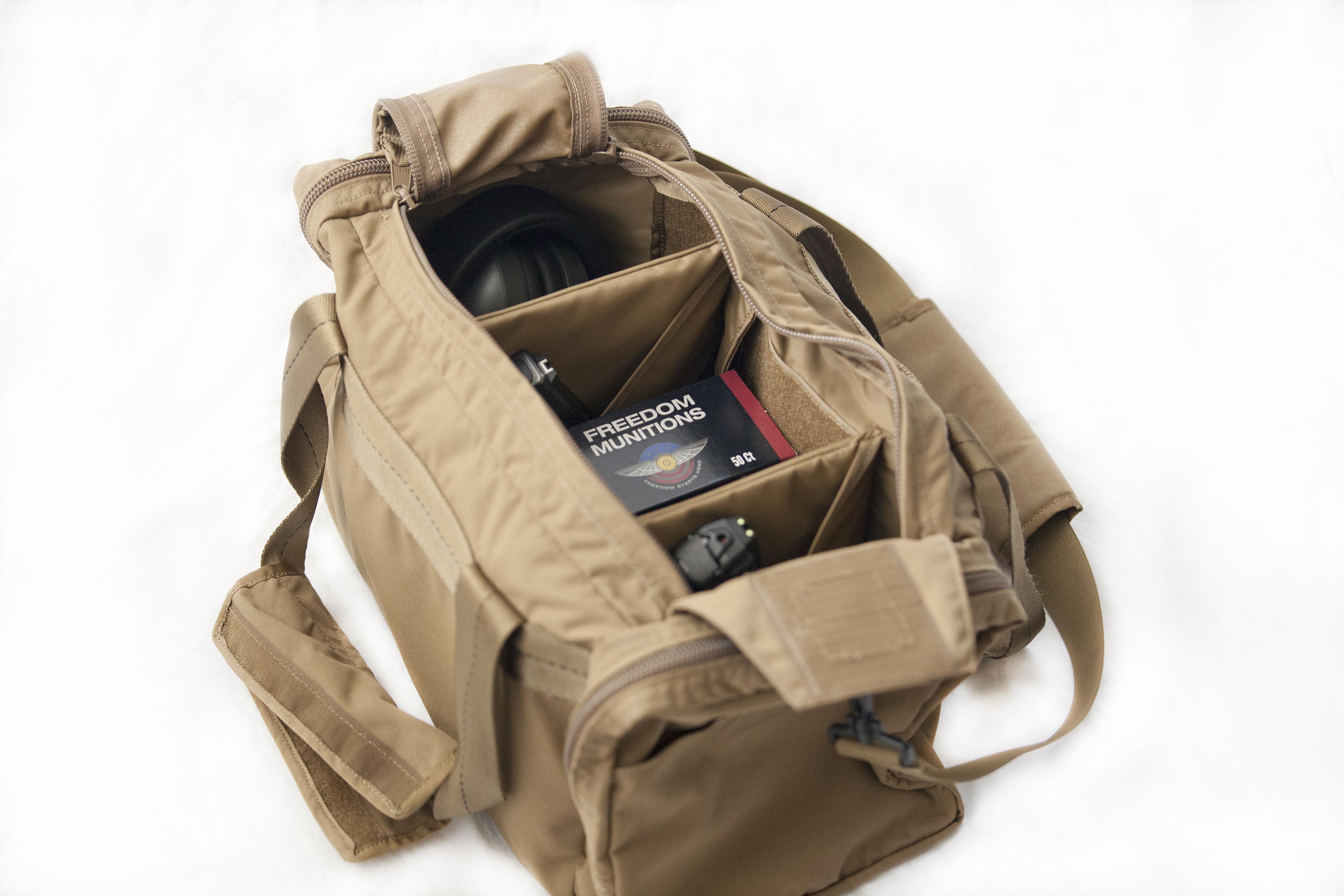 Tan (FDE) Pistol Bag Interior
