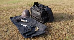 Pistol Range Bag Exploded View