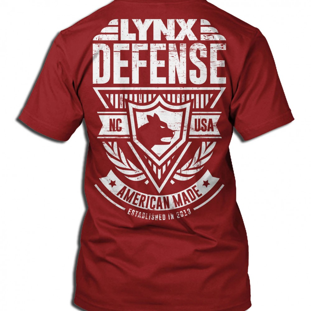 Lynx Defense T-Shirt Back