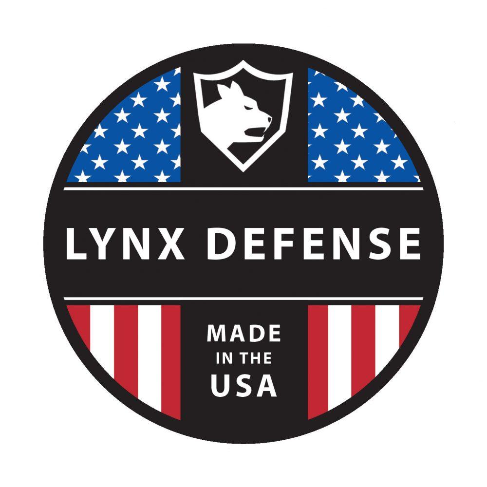 "3"" Circle Lynx Defense Sticker"