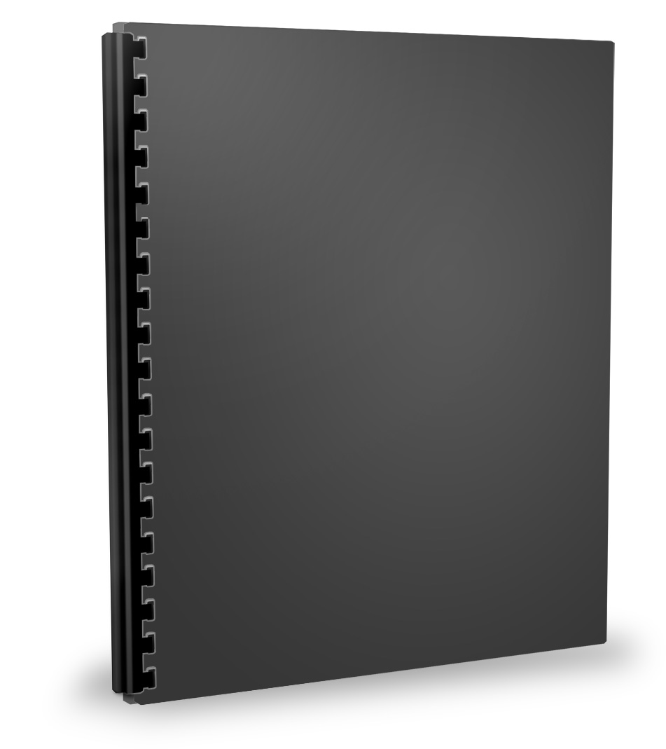 Binder Standing Right Mockup