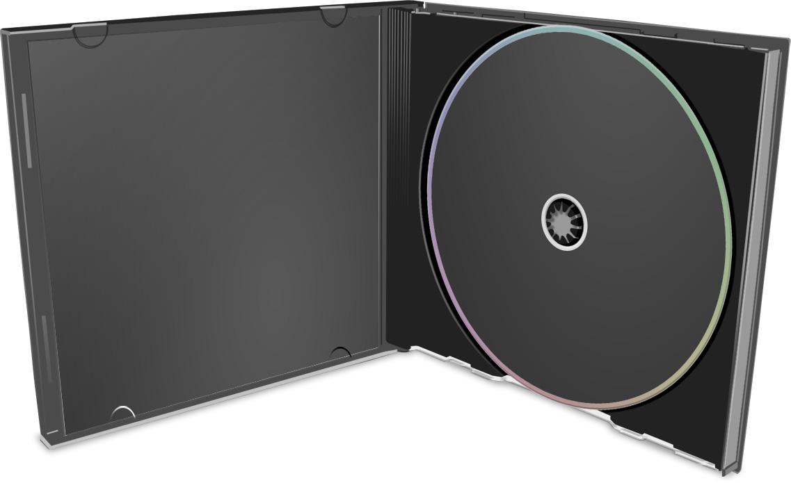 CD Case Open Mockup