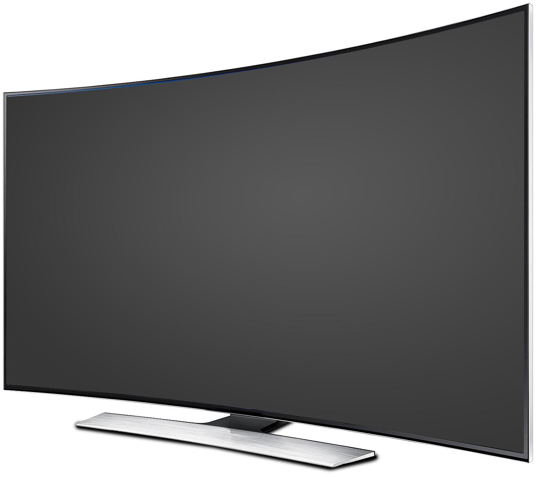 Curved TV LT Mockup