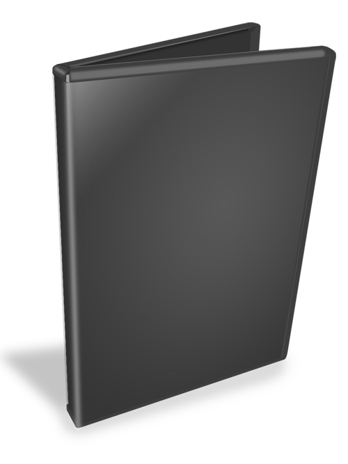 DVD Case Open Mockup