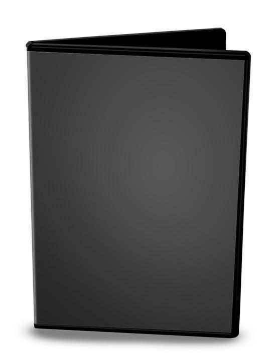DVD Case Open 2 Mockup