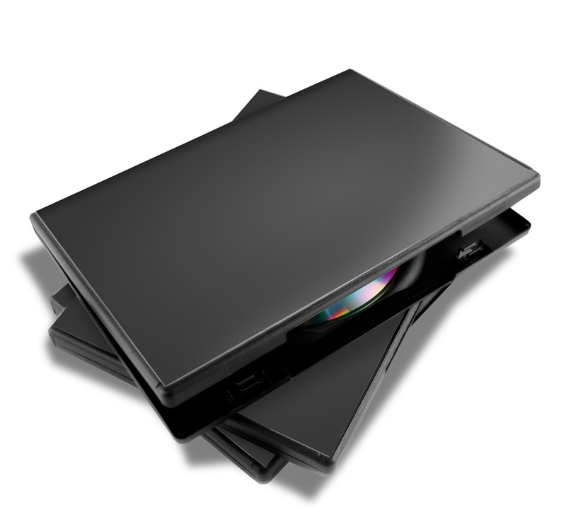 DVD Case Stack Mockup