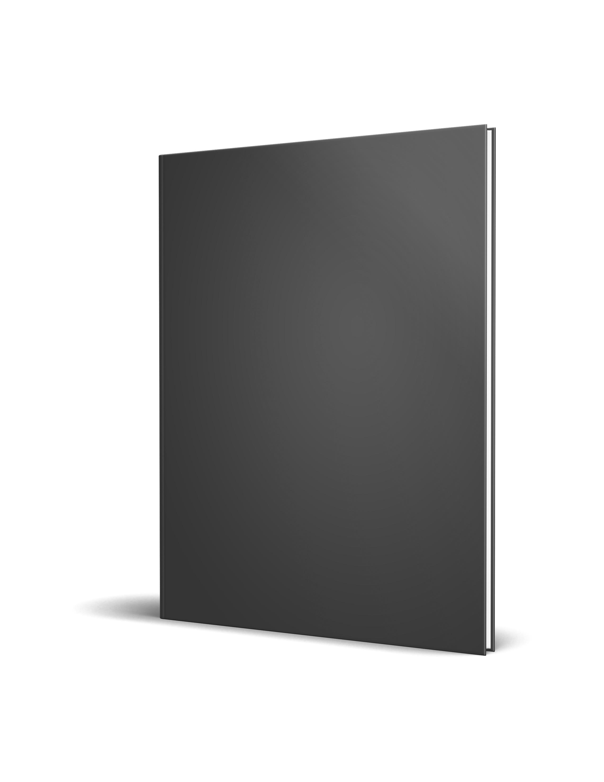 Hardcover thin l Mockup