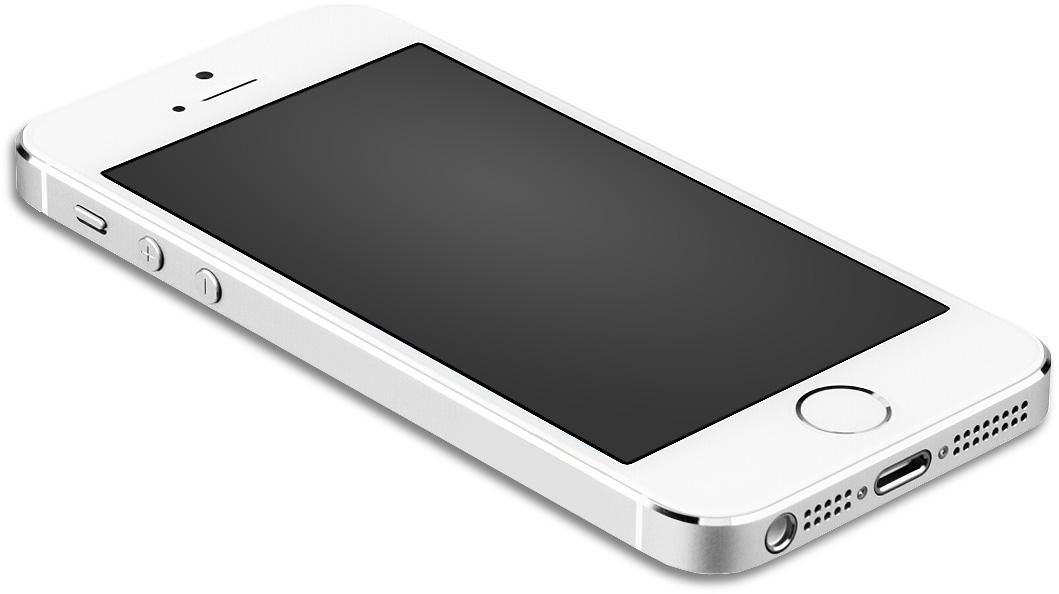 IPhone 5 laying LT Mockup