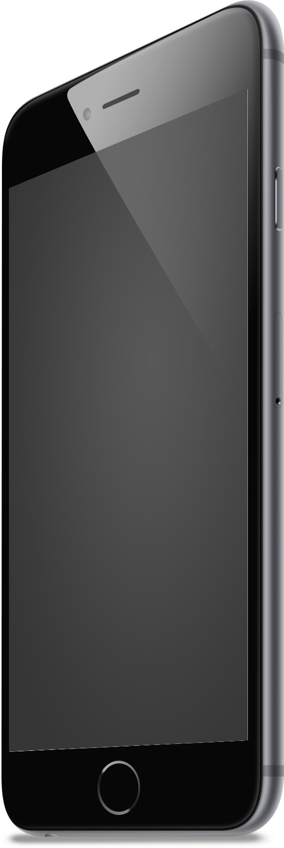 IPhone6 Grey Right Mockup