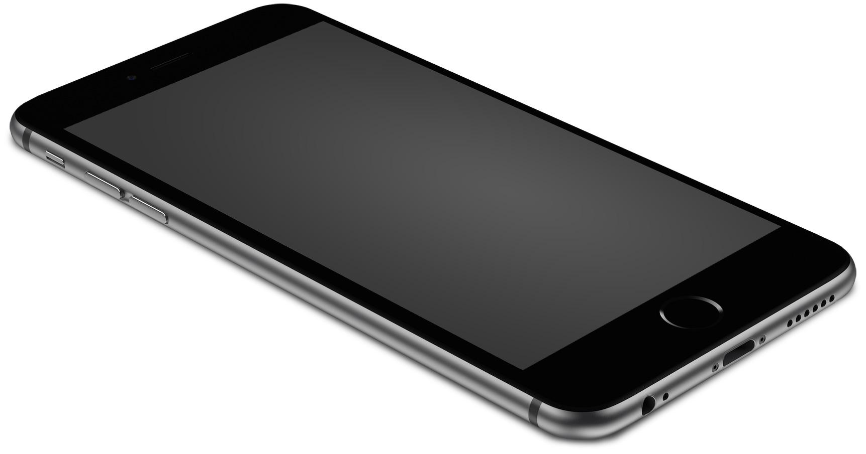 IPhone 6 Laying RT Mockup