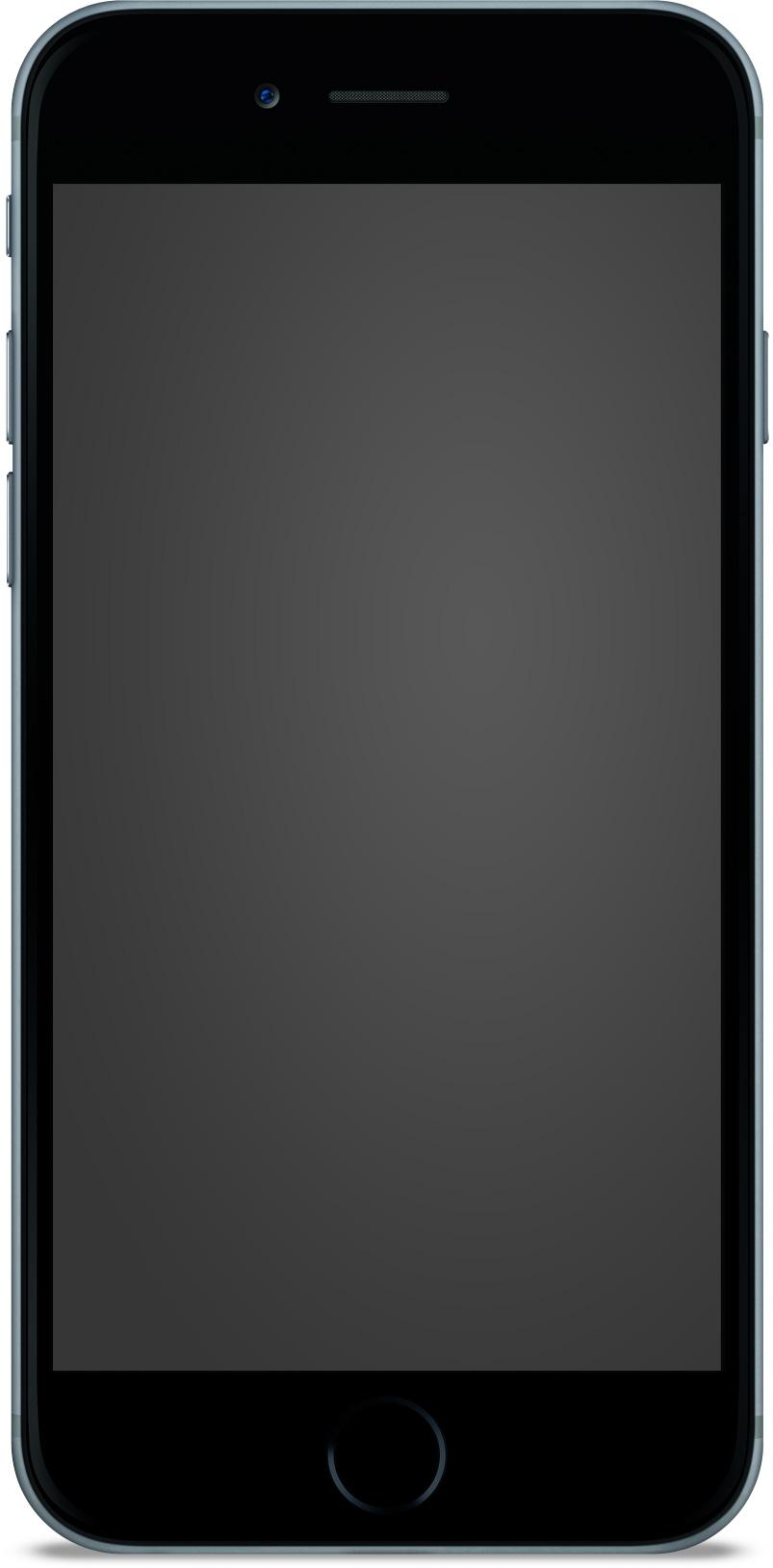 IPhone6 Standing BK Mockup