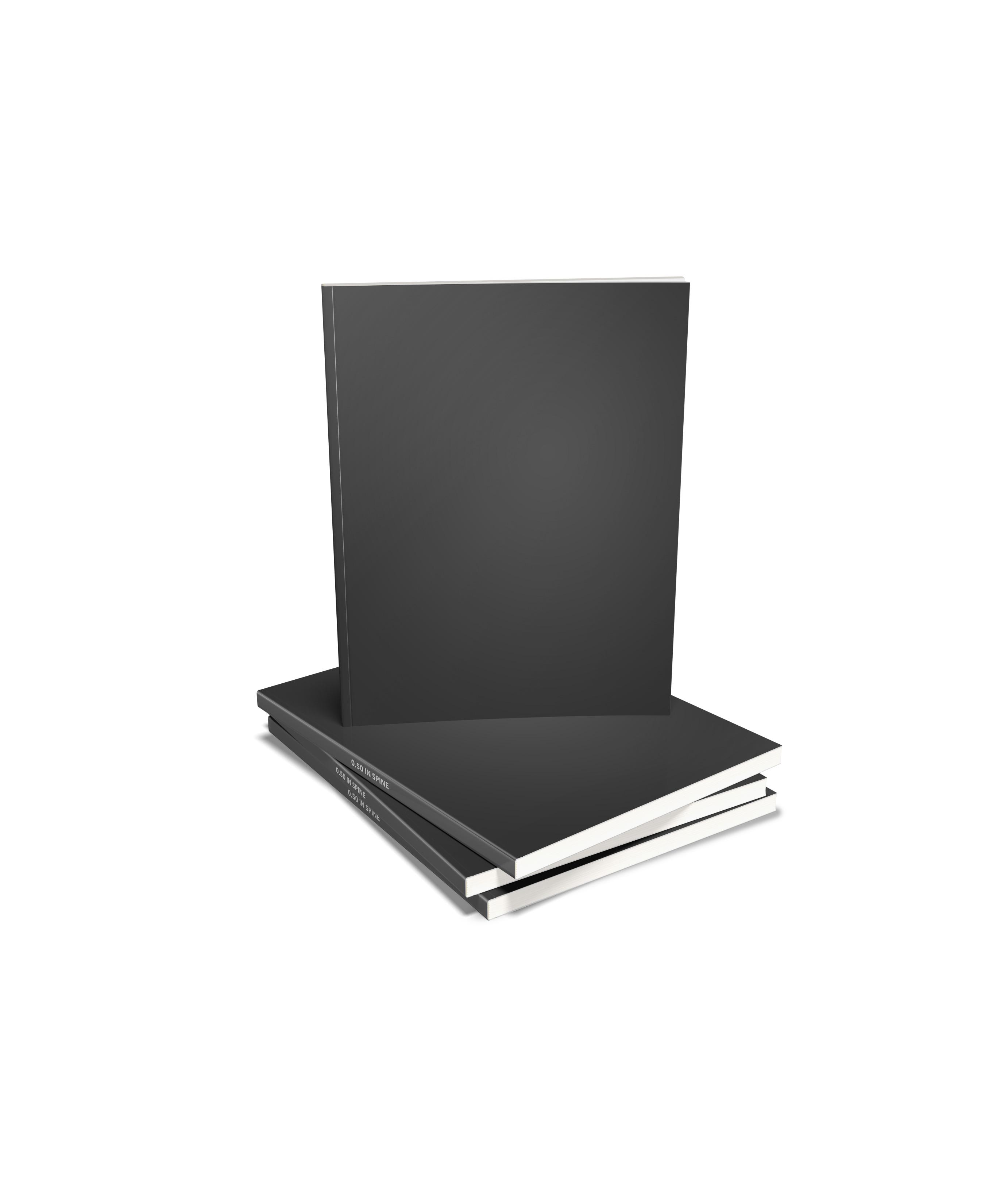 Paperback Thin Stack Mockup