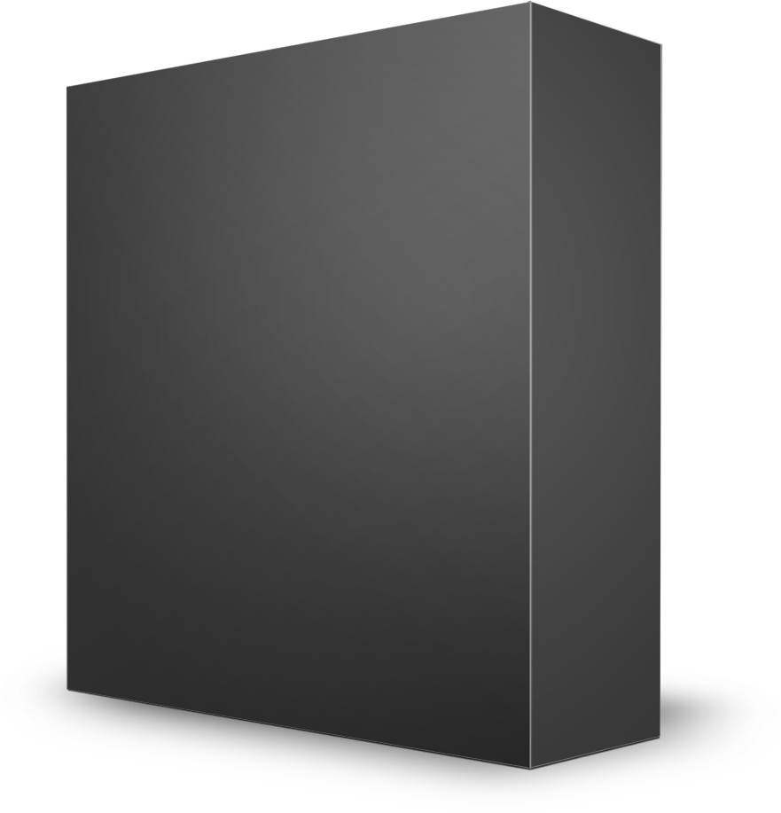 Software Box Left Mockup