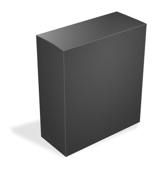 Software Box Top View Mockup