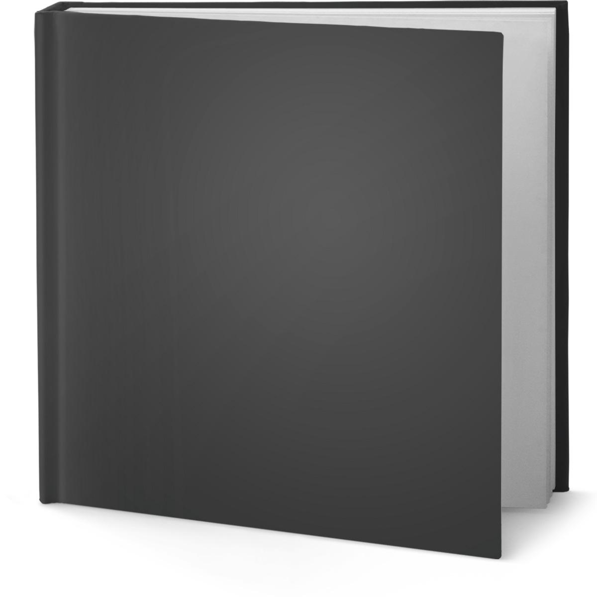 Square Book Standing Mockup