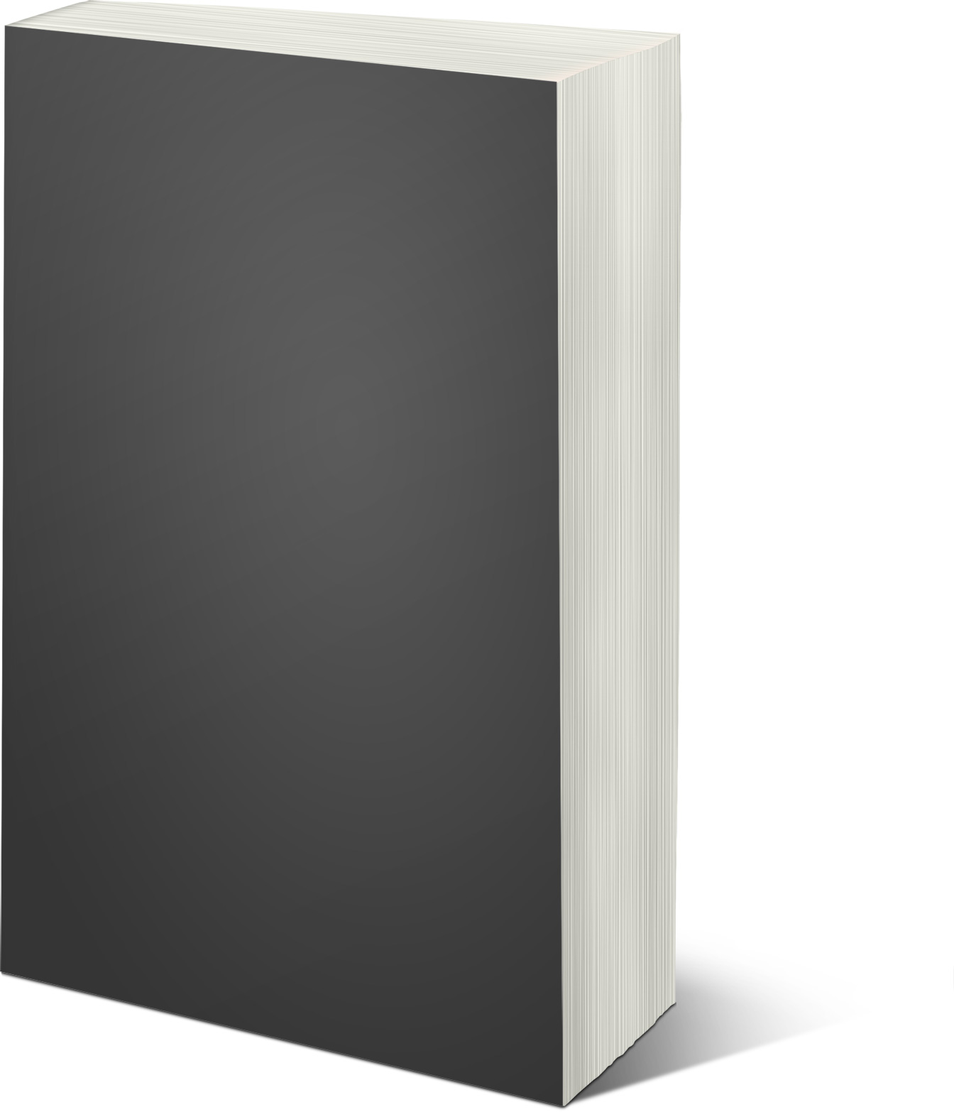 Thick Book Left Mockup
