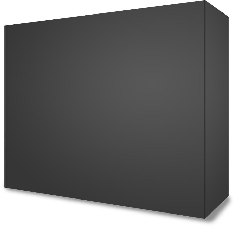 Wide Software Box Mockup