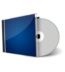 CD Case Blank Disc