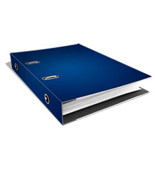 Ring Binder Laying