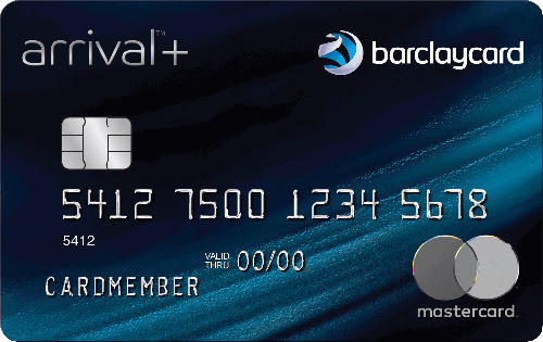 Graphic of Barclaycard Arrival® Plus World Elite MasterCard®