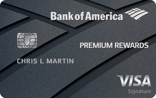 Graphic of Bank of America® Premium Rewards® credit card