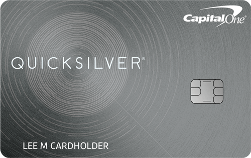 Graphic of Capital One® Quicksilver® Card - 0% Intro APR for 15 Months