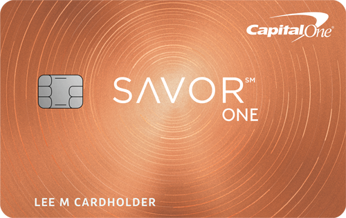 Graphic of Capital One® SavorOne℠ Cash Rewards Credit Card