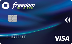 Graphic of Chase Freedom Unlimited®
