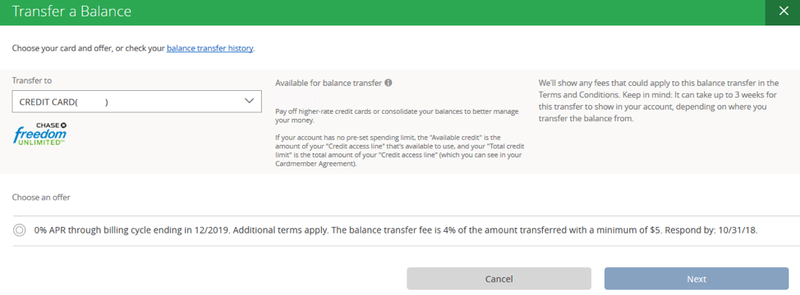 select balance transfer then next.png