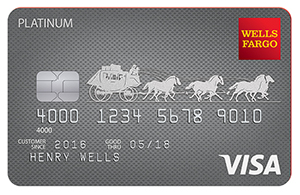 Wells Fargo Platinum card art