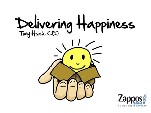 Zappos CEO Presentation (Slide 1)