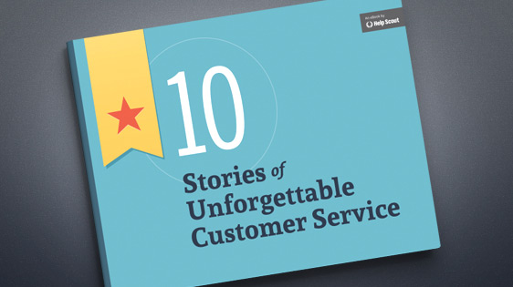 Free eBook: 10 Stories of Unforgettable Customer Service