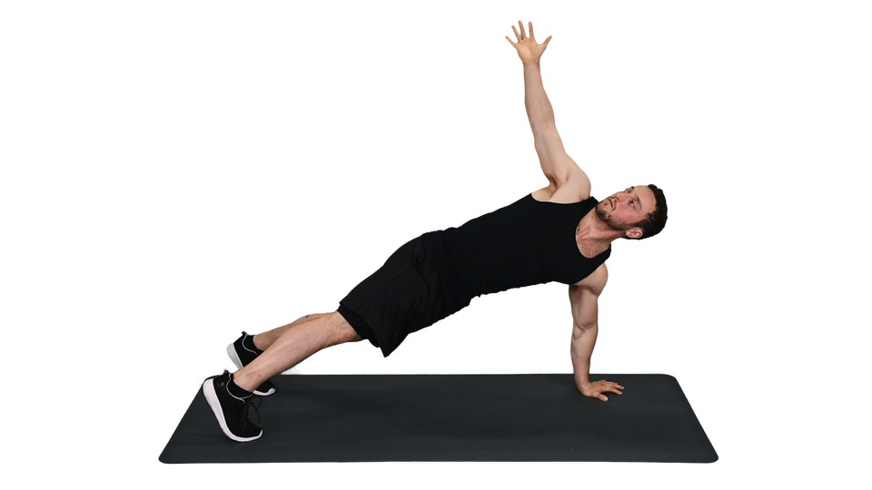 How to do Push-up and Rotation