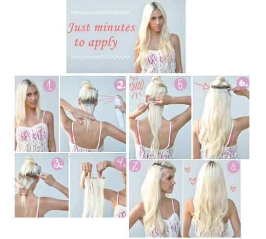 Deluxe clip in hair extensions pmusecretfo Choice Image