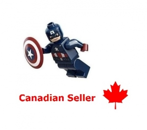 LEGO Customized Minifig Avengers Captain America Custom - Marvel DC Superheroes