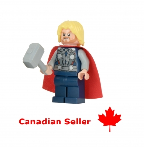 LEGO Avengers Thor Custom Minifig - Marvel Universe DC Comic Superheroes Toys