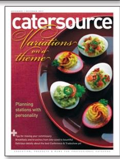 November/December 2012 Catersource magazine