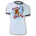 Lucky Gi Tiger Roll Ringer T-Shirt