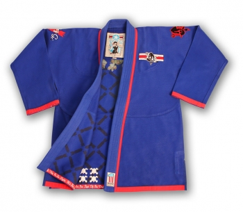 Lucky Gi Dog Fighter Gi Blue