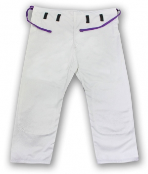 Jeff Glover Tyke Bamboo White Gi Pants