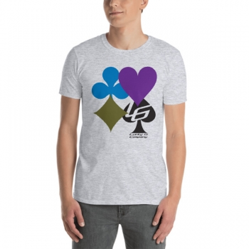 Lucky Gi Belt Colors T-Shirt - Grey