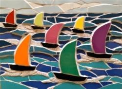 Regatta mosaic