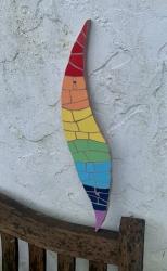Rainbow mosaic wave