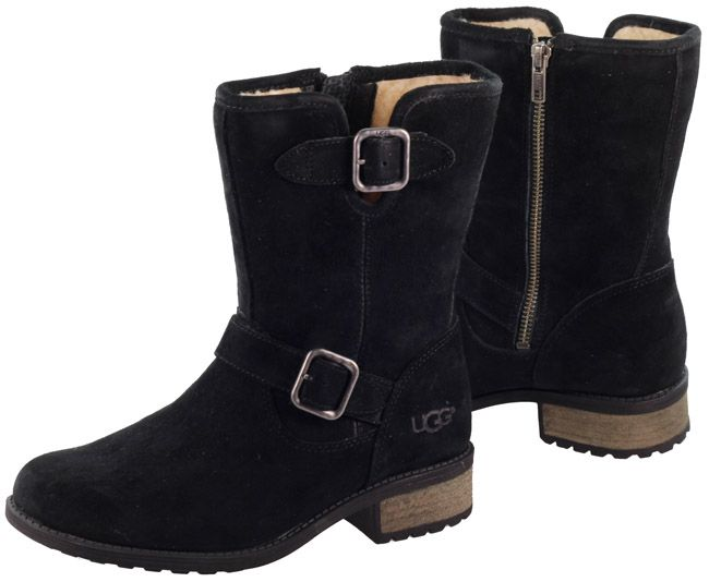 black suede ugg boots
