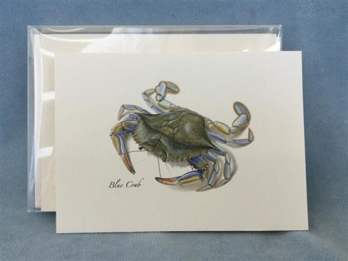 Blue Crab Notecards